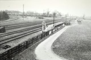 Main Line looking north, both branch lines can just be seen c1937 | Hertfordshire Archives and Local Studies