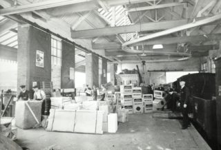 Inside the Freight Depot   Hertfordshire Archives and Local Studies