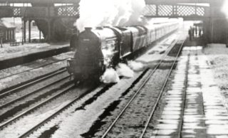 Last run of the Flying Scotsman 1963