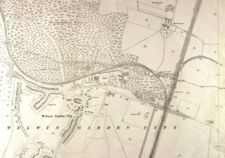 Ordnance Survey Map XXVIII.11 dated 1923 | Hertfordshire Archives and Local Studies