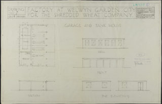 Garage and Tank house, Hertfordshire Archives and Local Studies UDC21/77/130