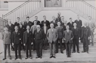 Shredded Wheat Managerial staff 1920s,  Library photo collection, Hertfordshire Archives and Local Studies
