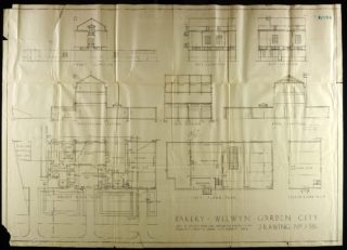 Floor plans of the Bakery 1926 | Hertfordshire Archives and Local Studies UDC/21/77/195