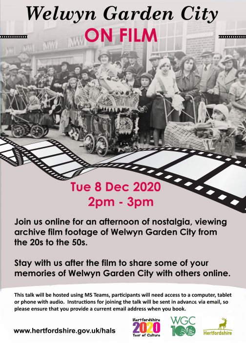 Welwyn Garden City on Film