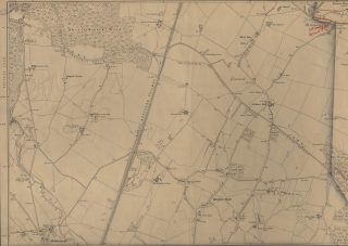 Map showing the site of Welwyn Garden City, 1898 | Hertfordshire Archives & Local Studies (XXVIII.11)