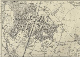 Map of Welwyn Garden City in 1938 | Hertfordshire Archives & Local Studies (XXVIII.11)