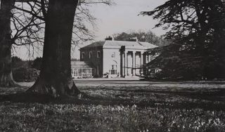 Photograph of Digswell House in 1956 | John Chear (Hertfordshire Archives & Local Studies ref CNT/WH/11/1/2/3/35)