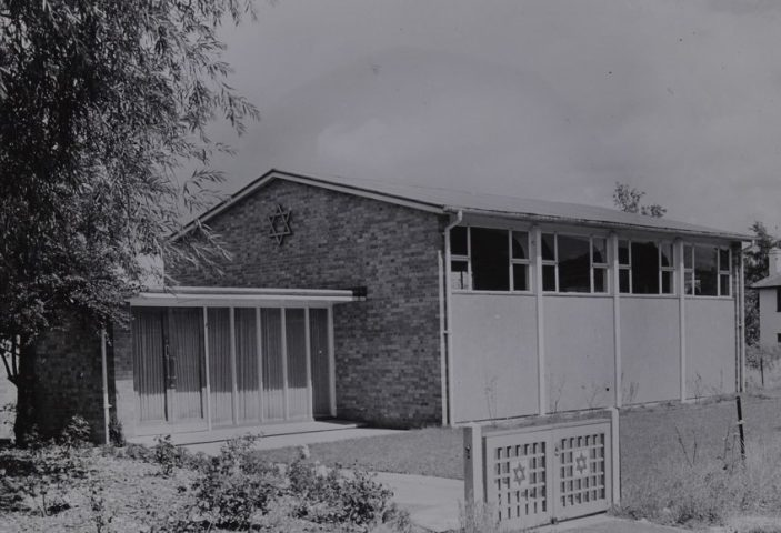 Synagogue Handside Lane 1955 | HALS Ref CNT/WH/1/2/4/12