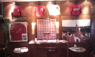 The England 1966 display at Homestead Court Hotel | Roger Filler