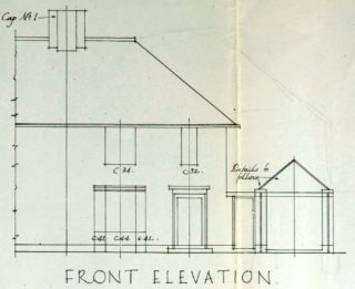 Front View of 14 Barley Croft Road (UDC21/77/159) | Hertfordshire Archives and Local Studies