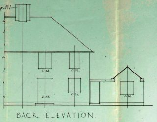 Back view of 16 Barleycroft road (UDC21/77/159) | Hertofrdshire archives and Local Studies