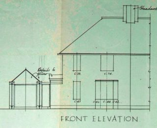 Front view of 16 Barleycroft Road (UDC21/77/159) | Hertfordshire archives and Local studies