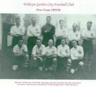 First Team 1955 - 56 | WGC FC