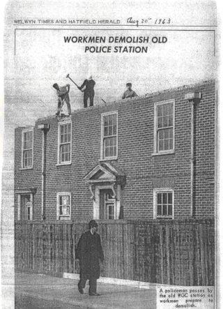 Welwyn Garden City Police Station, 1963 | Welwyn Hatfield Museum Service