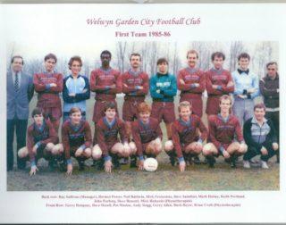 First Team 1985 - 86 | WGC FC