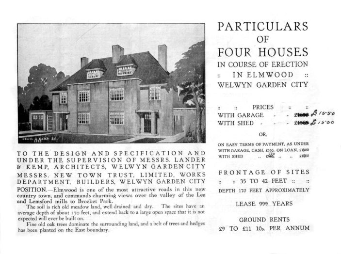 Particulars of Four Houses