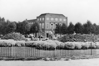Air raid precautions in Welwyn Garden City, digging trenches in Howardsgate | Hertfordshire Archives and Local Studies