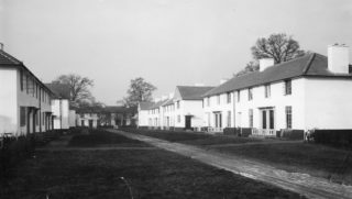 Athelstan Walk original houses c1930. HALS Library photo collection | Hertfordshire Archives and Local Studies