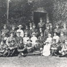 Australian officers and nurses at Digswell House | Campus West Library