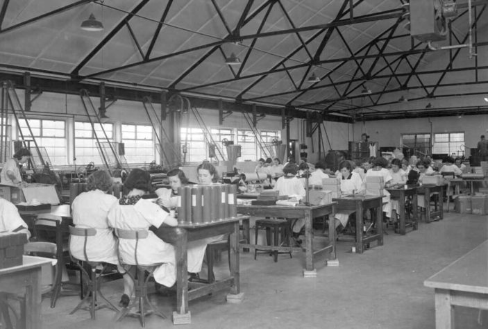 Beiersdorf factory interior