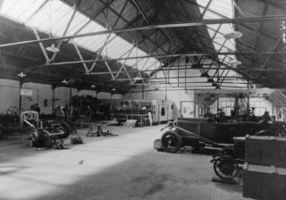 Birkins Motor Factory Welwyn Garden City | Hertfordshire Archives and Local Studies
