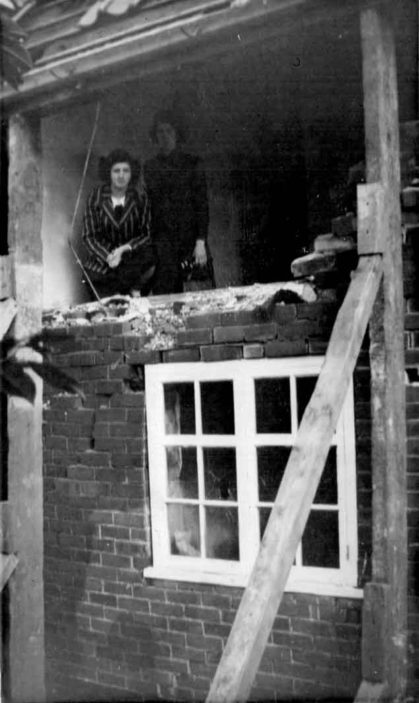 Bomb damage at Blakemere Road