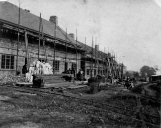 Brockswood Lane, under construction 1920 | Hertfordshire Archives and Local Studies