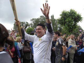 The Torch continues its journey | Geoff Pinfold