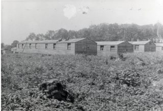 Campus Huts, where the Estate Office sat | Hertfordshire Archives and Local Studies