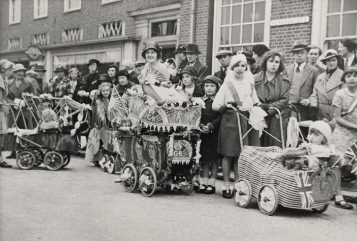 Goerge VI coronation celebration | Welwyn Garden City Library