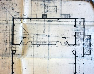 Stage Plans, Welwyn Theatre, May 1927 UDC21/77/251 | Hertfordshire Archives and Local Studies