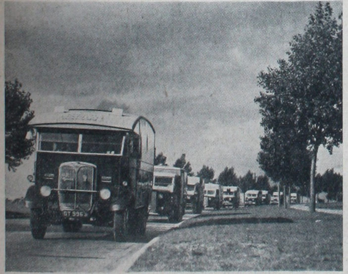 Moving some equipment | Welwyn Times 6 October 1938