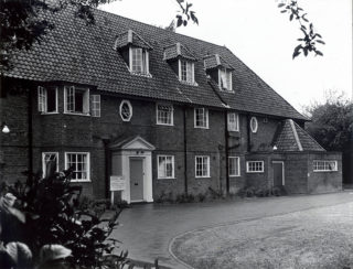 The Cottage Hospital in Church Road | Ken Wright photograph