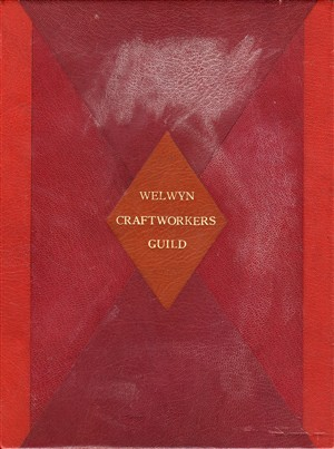 Cover of the Welwyn Cratfworkers Guild Book | Hertfordshire Archives and Local Studies