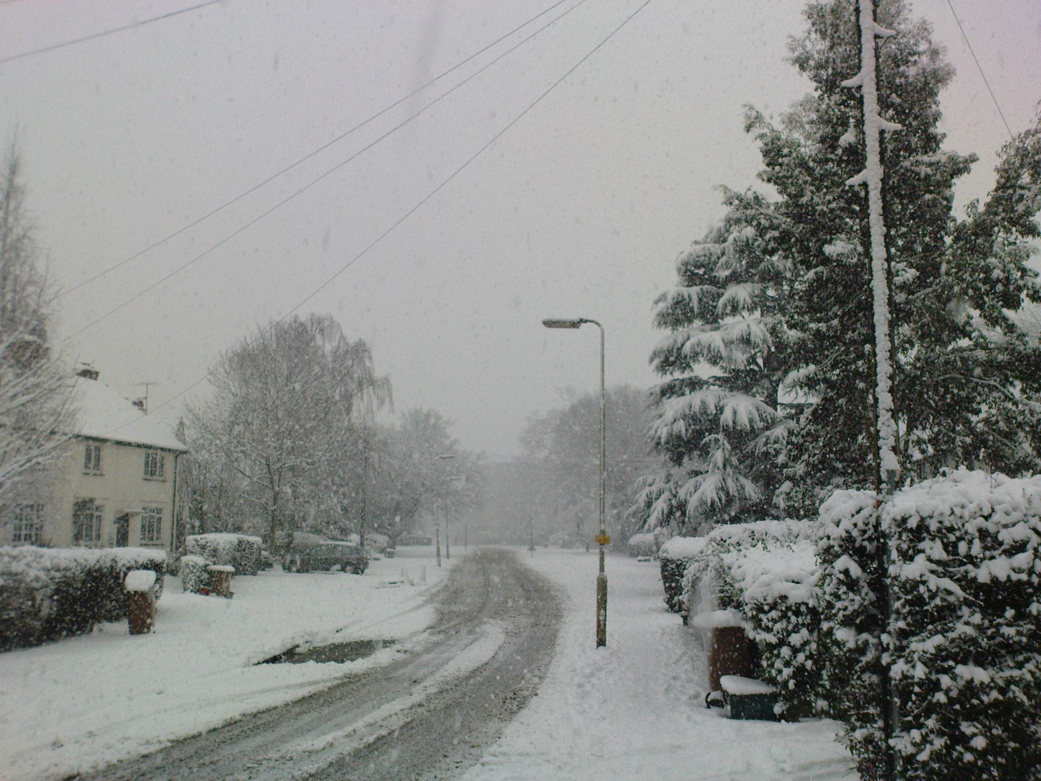welwyn garden city winter january 2010 town centre recent