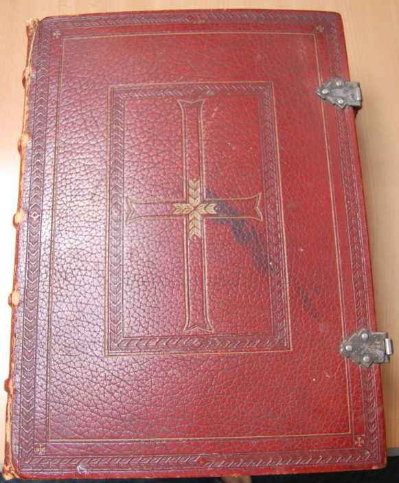 St Francis of Assis lecturn bible, taken 2015 | Susan J Hall