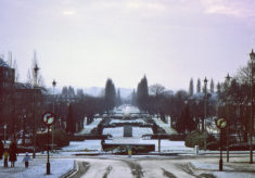 Campus and Parkway in December 1976