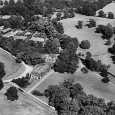 Digswell House and adjacent St John's Church (1928)