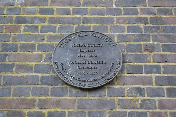 Plaque on Digswell Viaduct | Robert Gill