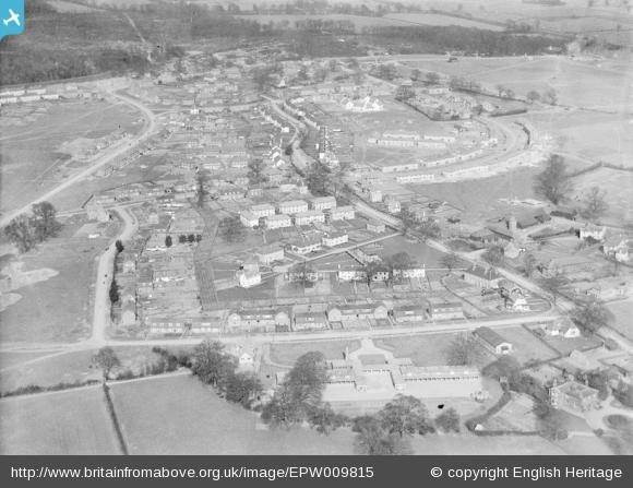 Handside Lane and surroundings - 1924 | English Heritage