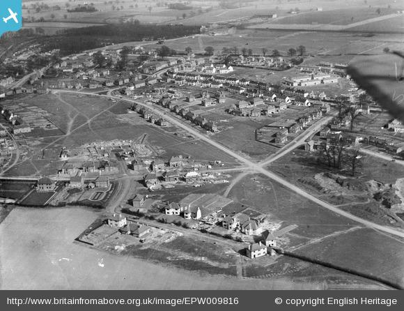 Valley Road and surroundings - 1924 | English Heritage