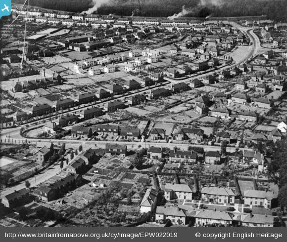 Youngs Rise and Valley Road - 1928 | English Heritage
