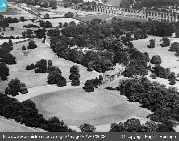 Digswell House and Digswell Viaduct - 1928 | English Heritage