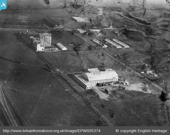 British Instructional Films Studio and the Shredded Wheat Company Works - 1928 | English Heritage