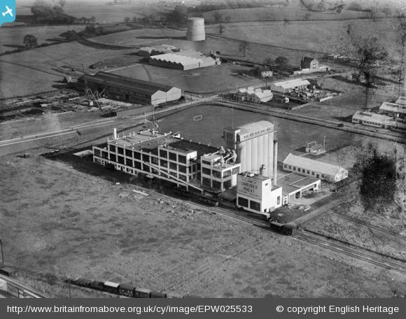 The Shredded Wheat Factory - 1928 | English Heritage
