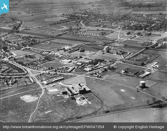 The Shredded Wheat Factory and other Industrial Works - 1935 | English Heritage