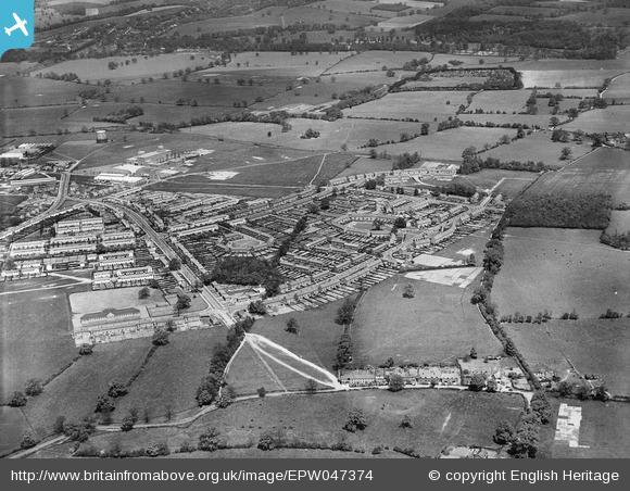 Ludwick Way, housing around Cranborne Gardens, Shortlands Green and environs - 1935 | English Heritage
