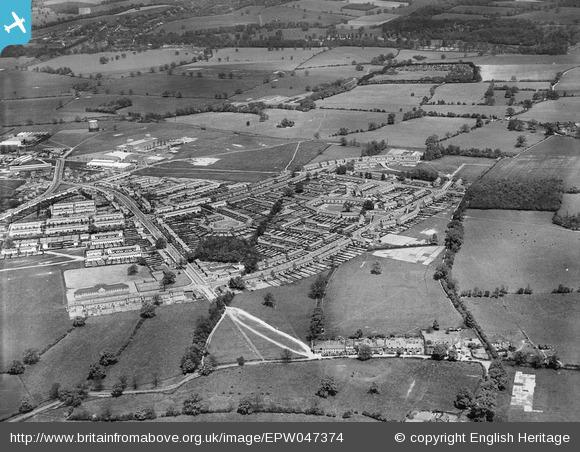 Ludwick Way, housing around Cranborne Gardens, Shortlands Green and environs - 1935 | English Heritage