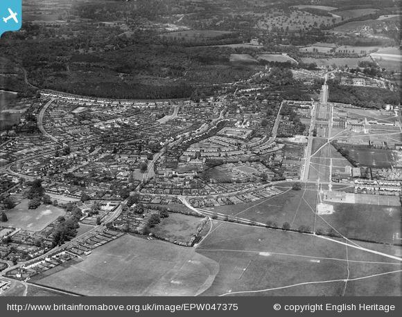 Handside and Sherrards Park - 1935 | English Heritage