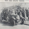 New Fire Engine 1929